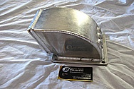 Ford Mustang Aluminum Intake Manifold BEFORE Chrome-Like Metal Polishing and Buffing Services / Restoration Services