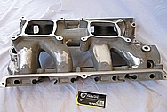 1988 Porsche 944S 2.5L Magnesium Intake Manifold BEFORE Chrome-Like Metal Polishing and Buffing Services