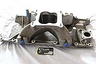 Mopar V8 Aluminum Intake Manifold BEFORE Chrome-Like Metal Polishing and Buffing Services / Restoration Services