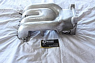 Mazda RX7 Aluminum Upper and Lower Intake Manifold BEFORE Chrome-Like Metal Polishing and Buffing Services / Restoration Services