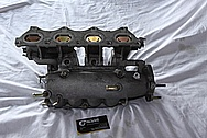 Mazda Miata Aluminum Intake Manifold BEFORE Chrome-Like Metal Polishing and Buffing Services / Restoration Services