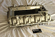 Ford GT500 Aluminum Intake Manifold BEFORE Chrome-Like Metal Polishing and Buffing Services / Restoration Services