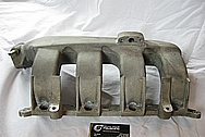 Dodge SRT-4 Aluminum Intake Manifold BEFORE Chrome-Like Metal Polishing and Buffing Services