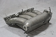 Honda Civic SI RBC Aluminum Intake Manifold BEFORE Chrome-Like Metal Polishing and Buffing Services / Restoration Services