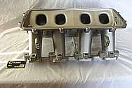 Holley Performance GM EFI Aluminum Intake Manifold BEFORE Chrome-Like Metal Polishing and Buffing Services / Restoration Services