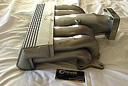 Ford Aluminum Intake Manifold BEFORE Chrome-Like Metal Polishing and Buffing Services / Restoration Services