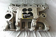 RPT Rage Proven Technology Scout 345 Aluminum Intake Manifold BEFORE Chrome-Like Metal Polishing and Buffing Services / Restoration Services