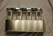 4 Cylinder Aluminum Intake Manifold BEFORE Chrome-Like Metal Polishing and Buffing Services