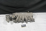 Toyota Supra 2JZ-GTE Aluminum Intake Manifold BEFORE Chrome-Like Metal Polishing and Buffing Services / Restoration Services