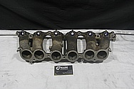 Toyota Supra 2JZ-GTE Aluminum Lower Intake Manifold BEFORE Chrome-Like Metal Polishing and Buffing Services / Restoration Services