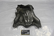Mazda RX7 Aluminum Intake Manifold BEFORE Chrome-Like Metal Polishing and Buffing Services / Restoration Services