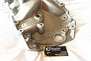 Chevy Aluminum Intake Manifold BEFORE Chrome-Like Metal Polishing and Buffing Services / Restoration Services