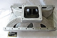 Aluminum Ray Barton 572 Cubic Inch Engine 1990 Dodge Daytona Intake Manifold BEFORE Chrome-Like Metal Polishing and Buffing Services