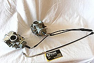 Aluminum Carburetors BEFORE Chrome-Like Metal Polishing and Buffing Services / Restoration Services