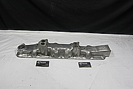 Aluminum Flathead Engine Intake Manifold BEFORE Chrome-Like Metal Polishing and Buffing Services / Restoration Services