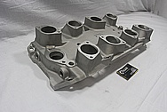 Aluminum Blower Intake Manifold BEFORE Chrome-Like Metal Polishing and Buffing Services / Restoration Services