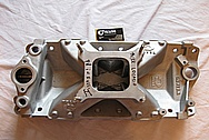 1967 Chevy Camaro V8 Intake Manifold BEFORE Chrome-Like Metal Polishing and Buffing Services