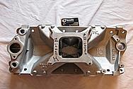 1967 Chevy Camaro V8 Intake Manifold BEFORE Chrome-Like Metal Polishing and Buffing Services