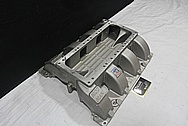 Mod Man Aluminum Intake Manifold BEFORE Chrome-Like Metal Polishing and Buffing Services / Restoration Services