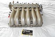 1996 Mitsubishi 3000GT Aluminum 6 Cylinder Intake Manifold BEFORE Chrome-Like Metal Polishing and Buffing Services / Restoration Services