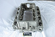 2007 Ford Shelby GT500 Aluminum V8 Intake Manifold BEFORE Chrome-Like Metal Polishing and Buffing Services