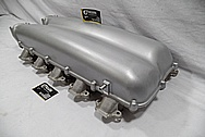 2008 Dodge Viper GTS Aluminum V10 Intake Manifold BEFORE Chrome-Like Metal Polishing and Buffing Services / Restoration Services