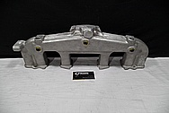 Aluminum 6 Cylinder Intake Manifold BEFORE Chrome-Like Metal Polishing and Buffing Services / Restoration Services