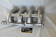 Aluminum, Rough Cast Intake Manifold BEFORE Chrome-Like Metal Polishing and Buffing Services / Restoration Services