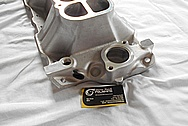 Aluminum, Rough Cast V8 Engine Intake Manifold BEFORE Chrome-Like Metal Polishing and Buffing Services / Restoration Services
