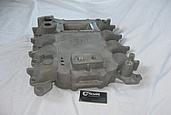 Aluminum Ford Mustang Kenne Bell Blower / Supercharger Intake Manifold BEFORE Chrome-Like Metal Polishing and Buffing Services