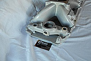 Chevrolet Aluminum V8 Engine Intake Manifold BEFORE Chrome-Like Metal Polishing and Buffing Services / Restoration Services