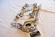 Chevrolet, Pontiac, Firebird, Camaro Aluminum Tuned Port Injection Intake Manifold BEFORE Chrome-Like Metal Polishing and Buffing Services