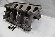 Aluminum V8 Intake Manifold BEFORE Chrome-Like Metal Polishing and Buffing Services / Restoration Services