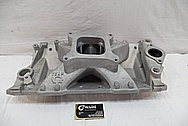 Aluminum Intake Manifold BEFORE Chrome-Like Metal Polishing and Buffing Services / Restoration Services