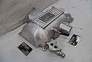 Mustang Cobra Aluminum Intake Manifold BEFORE Chrome-Like Metal Polishing and Buffing Services / Restoration Services
