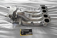 Aluminum Intake Manifold for Mozda RX7 BEFORE Chrome-Like Metal Polishing and Buffing Services / Restoration Services