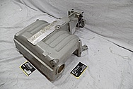 Aluminum Intake Manifold for Ford Mustang BEFORE Chrome-Like Metal Polishing and Buffing Services / Restoration Services