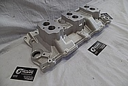 Aluminum Intake BEFORE Chrome-Like Metal Polishing and Buffing Services / Restoration Services