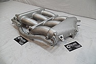 Aluminum Nissan GTR Race Port Intake Manifold BEFORE Chrome-Like Metal Polishing and Buffing Services / Restoration Services