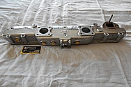 Jaguar Aluminum Intake Manifold AFTER Chrome-Like Metal Polishing and Buffing Services / Restoration Services