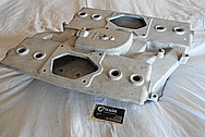 Crossram Aluminum Intake Manifold BEFORE Chrome-Like Metal Polishing and Buffing Services / Restoration Services