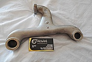 Aluminum Intake Manifold Piece BEFORE Chrome-Like Metal Polishing and Buffing Services / Restoration Services