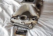 Edelbrock Victor Jr. Aluminum Intake Manifold BEFORE Chrome-Like Metal Polishing and Buffing Services / Restoration Services
