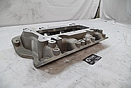 Jaguar Aluminum Intake Manifold BEFORE Chrome-Like Metal Polishing and Buffing Services / Restoration Services