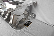 Small Block Ford Aluminum Intake Manifold BEFORE Chrome-Like Metal Polishing and Buffing Services / Restoration Services