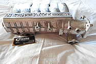 Mitsubishi 3000GT Aluminum Intake Manifold BEFORE Chrome-Like Metal Polishing and Buffing Services / Restoration Services