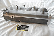 Toyota Supra 2JZ-GTE Aluminum Upper Intake Manifold BEFORE Chrome-Like Metal Polishing and Buffing Services / Restoration Services