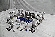 Aluminum Intake Manifold Kit BEFORE Chrome-Like Metal Polishing - Aluminum Polishing