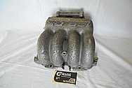 Mazda RX7 13B RE Aluminum Intake Manifold BEFORE Chrome-Like Metal Polishing and Buffing Services - Aluminum Polishing