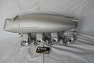 Nissan 240SX S13 SR20DET GReddy Aluminum Intake Manifold BEFORE Chrome-Like Metal Polishing and Buffing Services - Aluminum Polishing